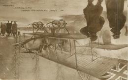 GUERRE 14 18 WW1    DEPART D UN BIPLAN AVEC BOMBES    AVIATION - Weltkrieg 1914-18