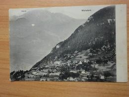 Postkarte Waladers  Echt Gelaufen - Schweiz