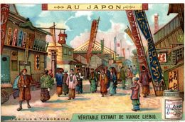 CHROMO LIEBIG AU JAPON UNE RUE A YOKOHAMA - Liebig