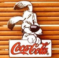Joli Pin's Coca-Cola Asterix, émail Grand Feu, Très Belle Qualité. - Coca-Cola