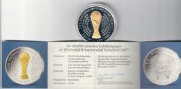 Fifa Fussball Weltmeistershaft Deutschland 2006  Medaglia Coppa Mondiali 2006 - Germania