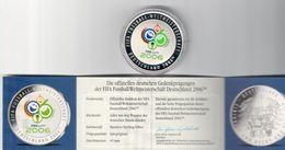 Fifa Fussball Weltmeistershaft Deutschland 2006  Medaglia Stemma Mondiali 2006 - Germania