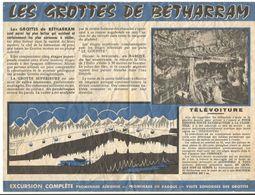 Dépliant Touristique : Les Grottes De Bétharram - Dépliants Turistici