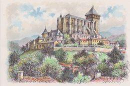 Carte Postale       BARRE  DAYEZ      ST BERTRAND DE COMMINGES    Vue Générale    2349 A - Saint Bertrand De Comminges