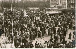 Braderie A Valence 13  Mars 1931 Carte Photo - Valence