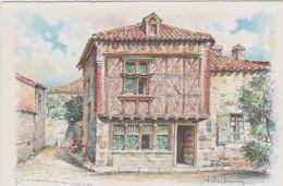 Carte Postale       BARRE  DAYEZ      ST BERTRAND DE COMMINGES    Vieille  Maison  Du XVI  Siécle   2349 C - Saint Bertrand De Comminges