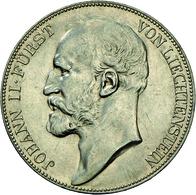 Liechtenstein: Johann II. 1858-1929: 5 Kronen 1900, Dav. 216, HMZ 2-1376b, Auflage 5.000 Expl., Min. - Liechtenstein