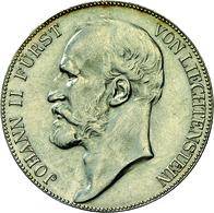 Liechtenstein: Johann II. 1858-1929: 5 Kronen 1904, Dav. 216, HMZ 2-1376c, Auflage 15.000 Expl., Min - Liechtenstein