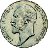 Liechtenstein: Johann II. 1858-1929: 5 Kronen 1910, Dav. 216, HMZ 2-1376d, Auflage 10.000 Expl., Fei - Liechtenstein