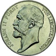 Liechtenstein: Johann II. 1858-1929: 5 Kronen 1915, Dav. 216, HMZ 2-1376e, Auflage 10.000 Expl., Fei - Liechtenstein
