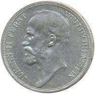 Liechtenstein: Johann II. 1858-1929: Lot 3 Stück; 2 Kronen 1915, 1 Krone 1900, 1915, Fast Vorzüglich - Liechtenstein