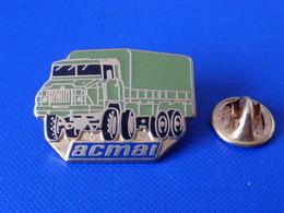Pin's Militaire - Camion Armée Acmat - Filiale De Renault Trucks Defense - Transport De Troupes - Pichard (LB10) - Army