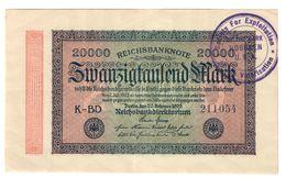 200000 Mark  20.9.1923 Timbro U.s.a LOTTO 1526 - [ 3] 1918-1933: Weimarrepubliek