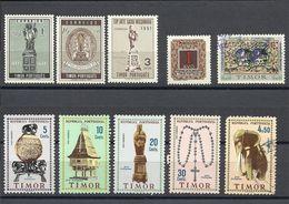 TIMOR , Lot De 10 Timbres Neufs & Oblitérés , Divers Années - East Timor