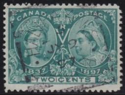Canada        .    SG     .   124     .       O      .   Gebruikt    .    /  .   Cancelled - 1851-1902 Regering Van Victoria