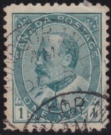 Canada    .    SG   .      173      .       O      .     Gebruikt   .    /      .        Cancelled - 1903-1908 Regering Van Edward VII