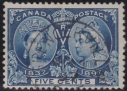 Canada    .    SG   .    127     .       O      .     Gebruikt   .    /      .        Cancelled - 1851-1902 Regering Van Victoria