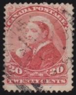 Canada    .    SG   .    115      .       O      .     Gebruikt   .    /      .        Cancelled - 1851-1902 Regering Van Victoria