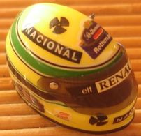 Joli Pin's Casque Senna Renault F1, Très Belle Qualité. - F1