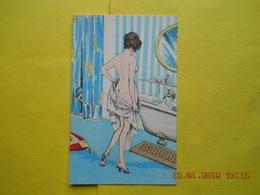 Illustrateur , Nu ,avant Le Bain - 1900-1949