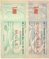 Parma Luglio 1955 5000+1000 Lire Sottoscrizione Per La Costruzione Della Casa Del Partito LOTTO 620 - [ 2] 1946-… : Républic