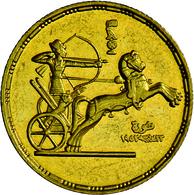 Ägypten - Anlagegold: Erste Republik 1953-1958: 1 Pound (100 Piaster) 1955 (AH 1374), 3 Jahrestag Re - Egypt