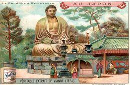 CHROMO LIEBIG AU JAPON LE BOUDDHA A KAMAKOURA - Liebig