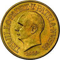 Dominikanische Republik - Anlagegold: 30 Pesos 1955, Präsident Trujillo, 25. Regierungsjubiläum, KM - Dominicana