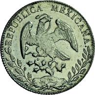 Mexiko: 8 Reales 1896 Mo - AM, Mexico City Mint, KM # 377.10, 27.08 G, Vorzüglich. - Mexico