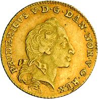 Dänemark: Frederik V 1746-1766: Dukat (12 Mark) 1761, Friedberg 269. 3,12 G. Sehr Schön. - Denmark