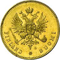 Finnland - Anlagegold: Nikolaus II. Von Russland, 1894-1917: 20 Markkaa 1910 L, Helsinki. KM # 9.2, - Finland