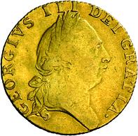 Großbritannien - Anlagegold: Georg III. 1760-1820: 1 Guinea 1789, KM# 609, Friedberg 356, 8,35 G 917 - Great Britain