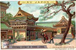 CHROMO LIEBIG AU JAPON TEMPLE JAPONAIS - Liebig