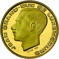 Luxemburg - Anlagegold: Jean 1964-2000: 20 Francs 1989, Gold 999, 6,22 G, Polierte Platte. - Luxembourg