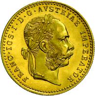 Österreich - Anlagegold: Franz Joseph I. 1848-1916: Lot 2 X 1 Dukat 1915 (Neuprägung), Jaeger 344, V - Austria