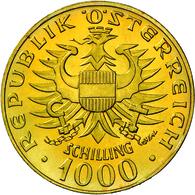 Österreich - Anlagegold: 1000 Schilling 1976, Babenberger, KM # 2933, Friedberg 909. 13,5 G, 900/100 - Austria