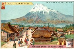 CHROMO LIEBIG AU JAPON LE VOLCAN FOUZI YAMA - Liebig
