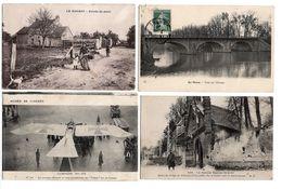 LOT  DE 44 CARTES  POSTALES  ANCIENNES  DIVERS  FRANCE  N99 - Cartes Postales