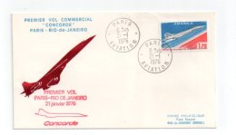 Premier Vol Commercial Concorde -voir état - Avions