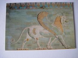 CPM 75 Paris Musée Du Louvre Département Des Antiquités Orientales Griffon Epoque Achéméride 1974  T.B.E. - Museos