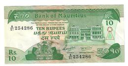 Mauritius 10 Rupees 1985 LOTTO 1455 - Mauritius