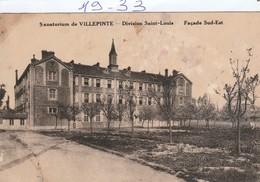 Militaria : VILLEPINTE : ( Sanatorium Division Saint-louis ) - Sonstige