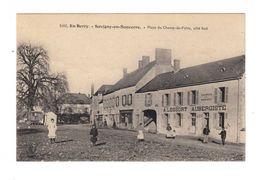 En Berry. Savigny En Sancerre. Place Du Champ De Foire, Côté Sud. Avec Façade Auberge A. Lessort. (2278) - France