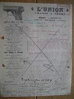 MAROC - CASABLANCA - Lettre De 1929 - L'UNION - J. BARNSTYN - Armes De Chasse, Fusils BROWNING, Pistolets F.N. - Factures & Documents Commerciaux