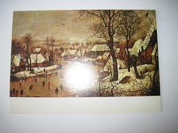 CPM 21  Musée Magnin-Dijon Pieter BRUEGHEL  (vers 1525-1569)  Les Plaisirs De L'hiver 1975  T.B.E. - Musées