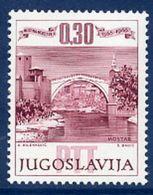 YUGOSLAVIA 1966 400th Anniversary Of Mostar Old Bridge MNH / **.  Michel 1185 - 1945-1992 Socialist Federal Republic Of Yugoslavia