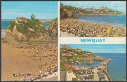Multiview, Newquay, Cornwall, 1968 - ETW Dennis Postcard - Newquay
