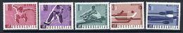 YUGOSLAVIA 1966 Sports Championships  MNH / **.  Michel 1144-48 - 1945-1992 Socialist Federal Republic Of Yugoslavia