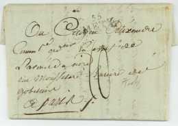 Armee De Sambre Et Meuse - Metz 1797 - Luuyt (1764-1824) Commissaire Ordonnateur En Chef Guerres Revolution - Marcophilie (Lettres)