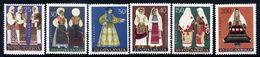 YUGOSLAVIA 1964 National Costumes  MNH / **.  Michel 1085-90 - 1945-1992 Socialist Federal Republic Of Yugoslavia